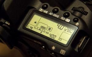 exposure compensation Canon