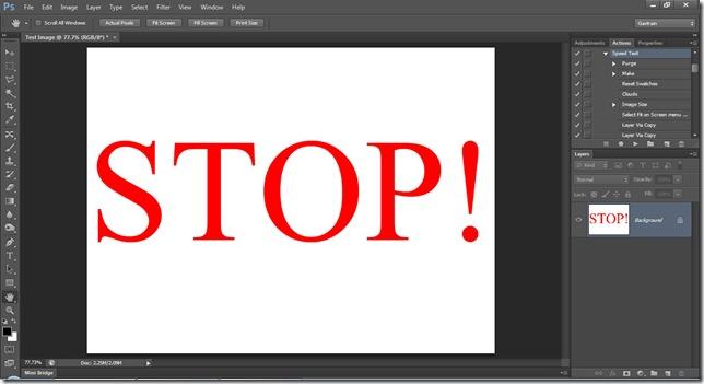 How fast is Photoshop? | Gavtrain com
